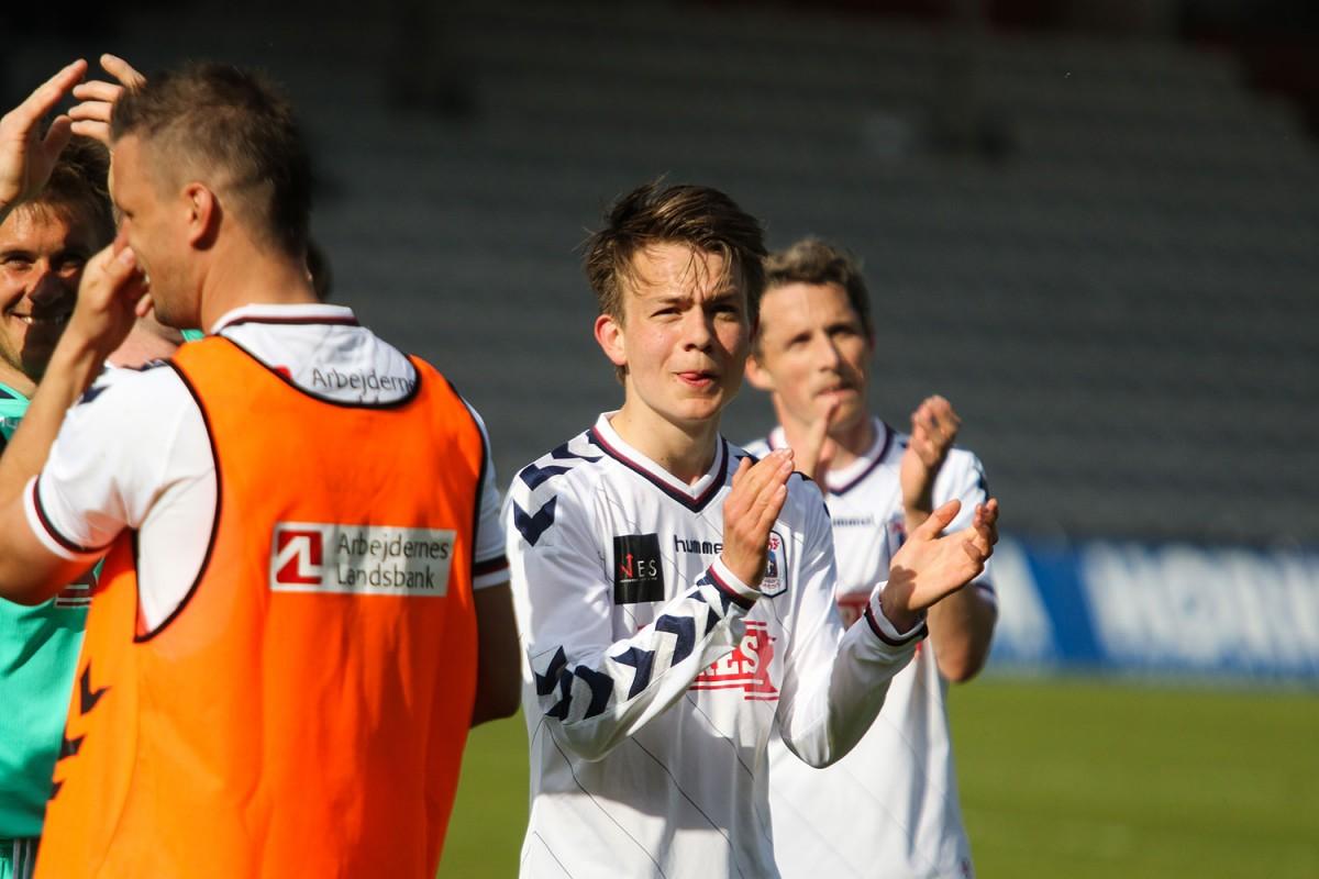 Oscar Buur på vej til Championsship