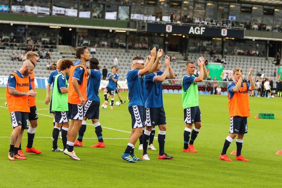 Startopstillingen mod Brøndby: